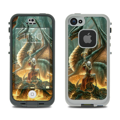 LifeProof iPhone 5S Fre Case Skin - Dragon Mage
