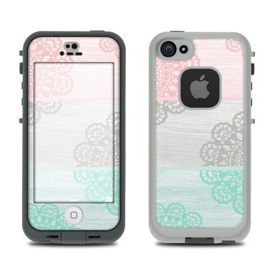 Lifeproof iPhone 5S Fre Case Skin - Doily