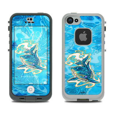 LifeProof iPhone 5S Fre Case Skin - Dolphin Daydream