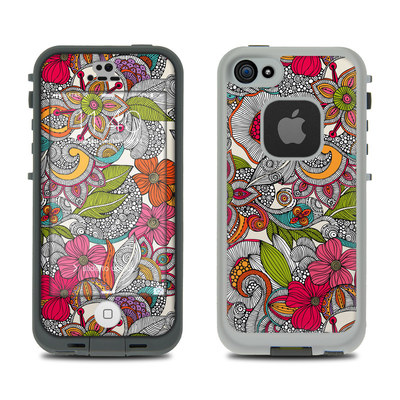 LifeProof iPhone 5S Fre Case Skin - Doodles Color
