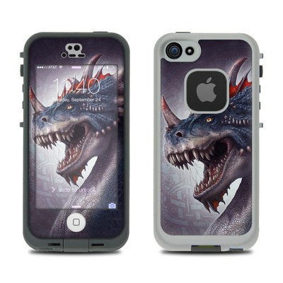 Lifeproof iPhone 5S Fre Case Skin - Dracosaurus Rex