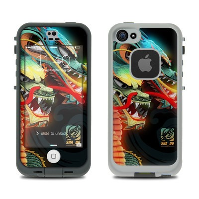 Lifeproof iPhone 5S Fre Case Skin - Dragons
