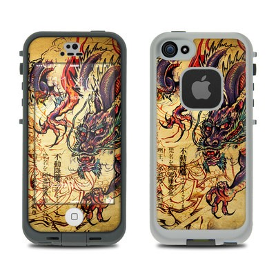 LifeProof iPhone 5S Fre Case Skin - Dragon Legend