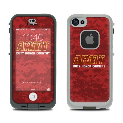 LifeProof iPhone 5S Fre Case Skin - Duty and Honor