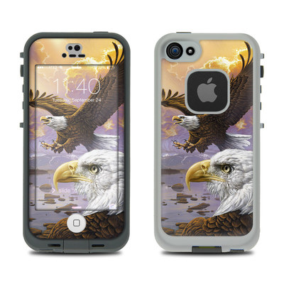 LifeProof iPhone 5S Fre Case Skin - Eagle