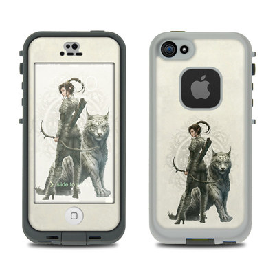 LifeProof iPhone 5S Fre Case Skin - Half Elf Girl