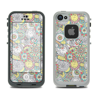 LifeProof iPhone 5S Fre Case Skin - Faded Floral