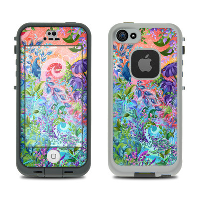 LifeProof iPhone 5S Fre Case Skin - Fantasy Garden