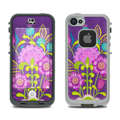 LifeProof iPhone 5S Fre Case Skin - Floral Bouquet