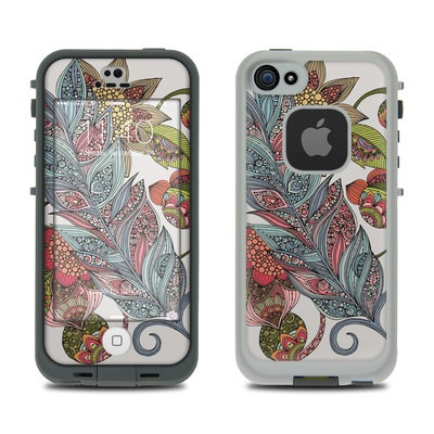 Lifeproof iPhone 5S Fre Case Skin - Feather Flower