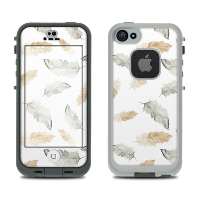 LifeProof iPhone 5S Fre Case Skin - Feathers