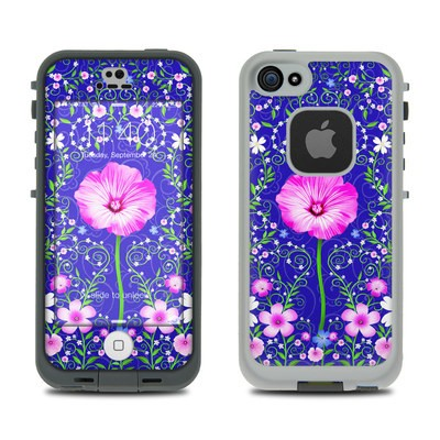 Lifeproof iPhone 5S Fre Case Skin - Floral Harmony