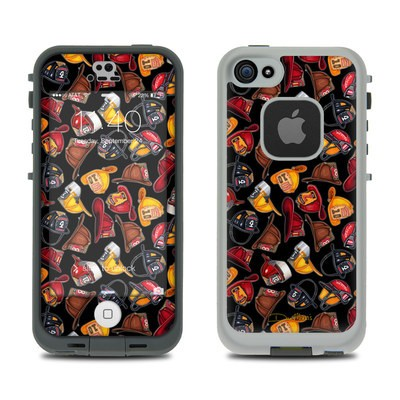 Lifeproof iPhone 5S Fre Case Skin - Fire Helmets