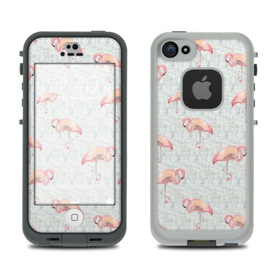 Lifeproof iPhone 5S Fre Case Skin - Flamingo Mosaic