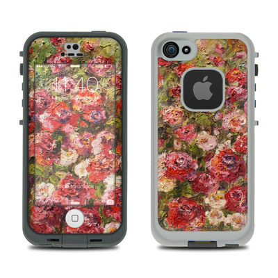 LifeProof iPhone 5S Fre Case Skin - Fleurs Sauvages