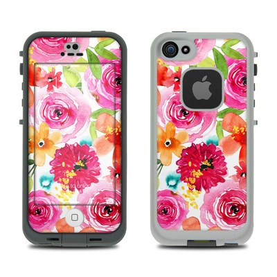 Lifeproof iPhone 5S Fre Case Skin - Floral Pop