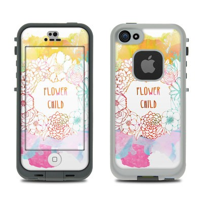 Lifeproof iPhone 5S Fre Case Skin - Flower Child