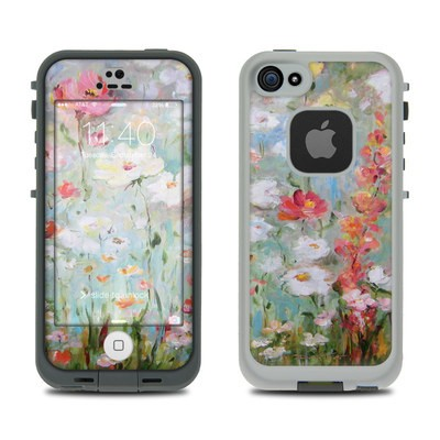 LifeProof iPhone 5S Fre Case Skin - Flower Blooms