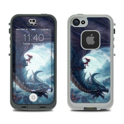 Lifeproof iPhone 5S Fre Case Skin - Flying Dragon