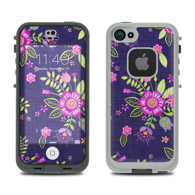 LifeProof iPhone 5S Fre Case Skin - Folk Floral