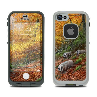 Lifeproof iPhone 5S Fre Case Skin - Forest Gold