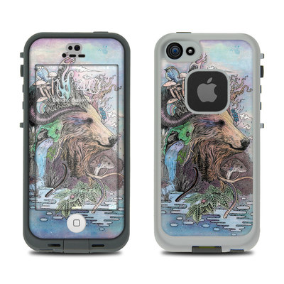 LifeProof iPhone 5S Fre Case Skin - Forest Warden