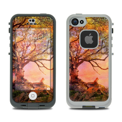 LifeProof iPhone 5S Fre Case Skin - Fox Sunset