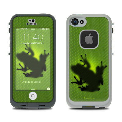 LifeProof iPhone 5S Fre Case Skin - Frog