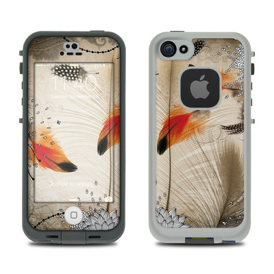 LifeProof iPhone 5S Fre Case Skin - Feather Dance