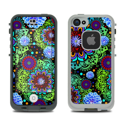 LifeProof iPhone 5S Fre Case Skin - Funky Floratopia