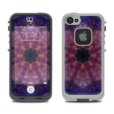 Lifeproof iPhone 5S Fre Case Skin - Galactic Mandala