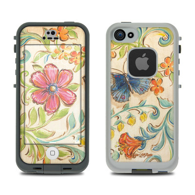 LifeProof iPhone 5S Fre Case Skin - Garden Scroll