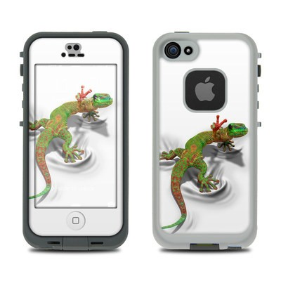 Lifeproof iPhone 5S Fre Case Skin - Gecko