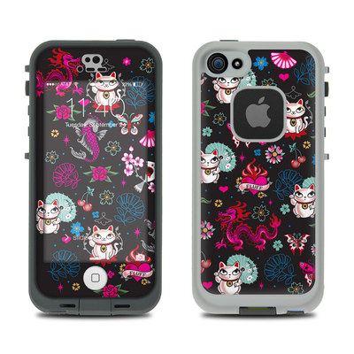 LifeProof iPhone 5S Fre Case Skin - Geisha Kitty