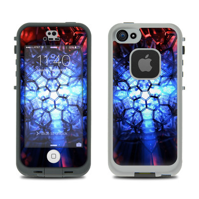 LifeProof iPhone 5S Fre Case Skin - Geomancy
