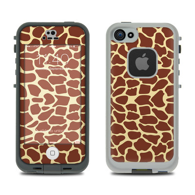 LifeProof iPhone 5S Fre Case Skin - Giraffe