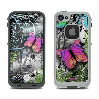 LifeProof iPhone 5S Fre Case Skin - Goth Forest
