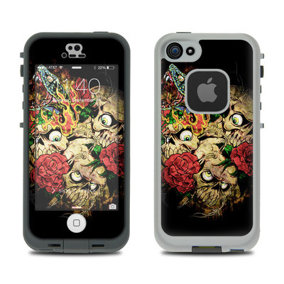 LifeProof iPhone 5S Fre Case Skin - Gothic Tattoo