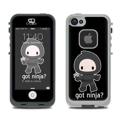 LifeProof iPhone 5S Fre Case Skin - Got Ninja