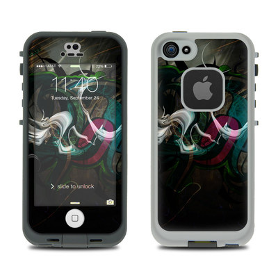LifeProof iPhone 5S Fre Case Skin - Graffstract