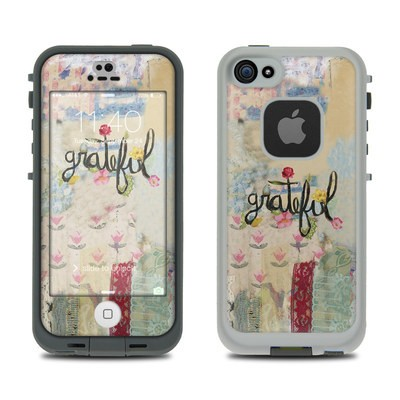 Lifeproof iPhone 5S Fre Case Skin - Grateful