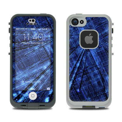 LifeProof iPhone 5S Fre Case Skin - Grid