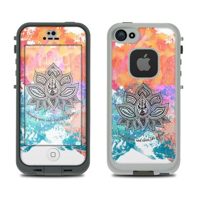 Lifeproof iPhone 5S Fre Case Skin - Happy Lotus