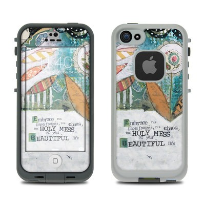 Lifeproof iPhone 5S Fre Case Skin - Holy Mess