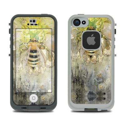 Lifeproof iPhone 5S Fre Case Skin - Honey Bee