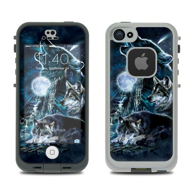 LifeProof iPhone 5S Fre Case Skin - Howling