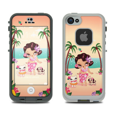 LifeProof iPhone 5S Fre Case Skin - Hula Lulu