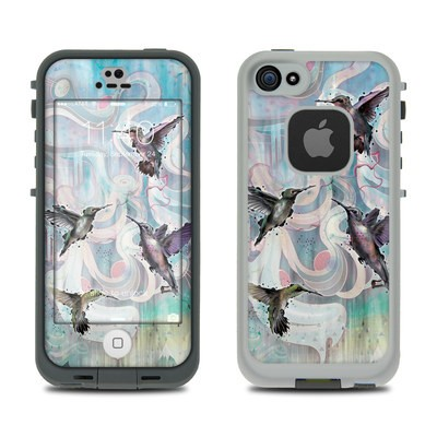 LifeProof iPhone 5S Fre Case Skin - Hummingbirds