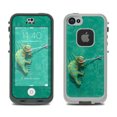 Lifeproof iPhone 5S Fre Case Skin - Iguana
