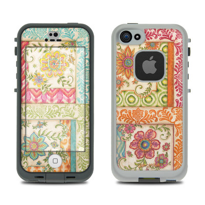 LifeProof iPhone 5S Fre Case Skin - Ikat Floral